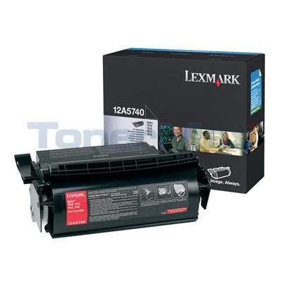 LEXMARK OPTRA T610 TONER CART BLACK 10K